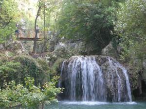 Hotnitsa waterfall